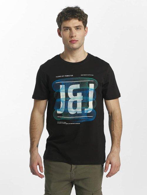 Jack & Jones T-Shirt jcoSpring schwarz
