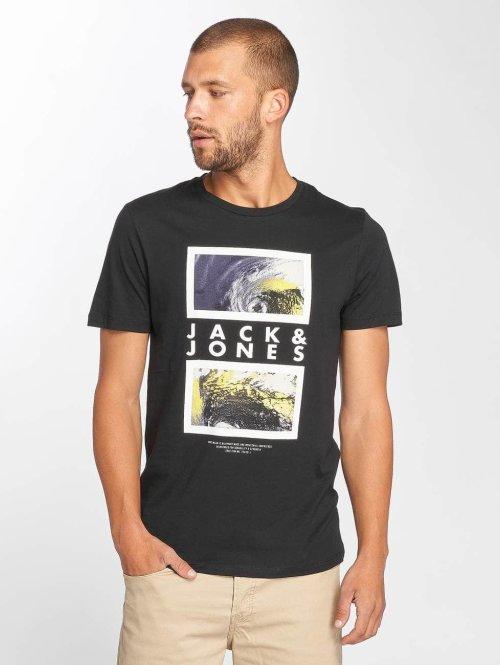 Jack & Jones T-Shirt jcoLax schwarz