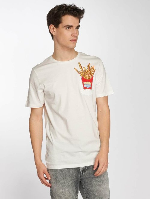 Jack & Jones T-Shirt jorCube weiß
