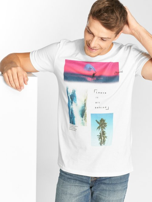 Jack & Jones T-Shirt jorChillen weiß