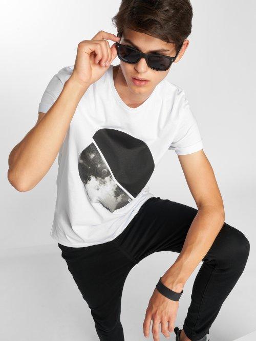 Jack & Jones T-Shirt jcoArc Crew Neck white