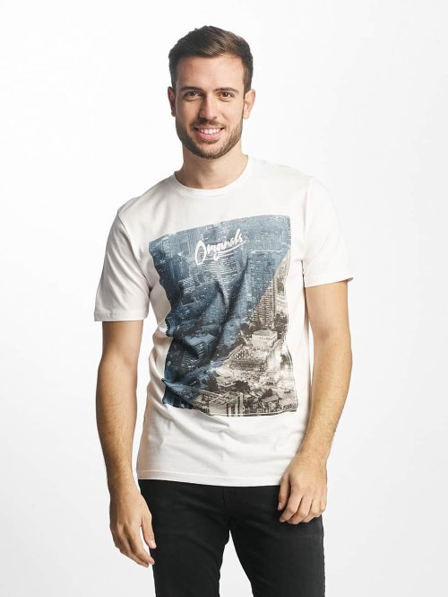 Jack & Jones t-shirt jjorPreen wit