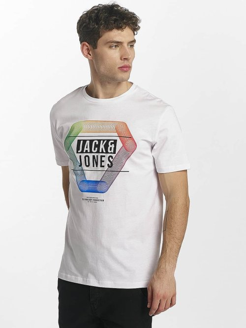 Jack & Jones t-shirt jcoSpring wit