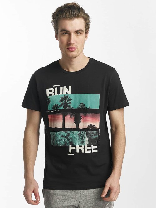 Jack & Jones t-shirt jorstane zwart