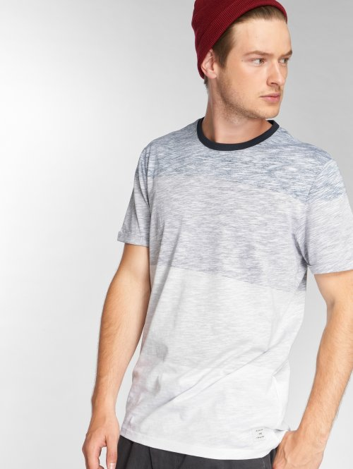 Jack & Jones T-Shirty jcoInternal niebieski
