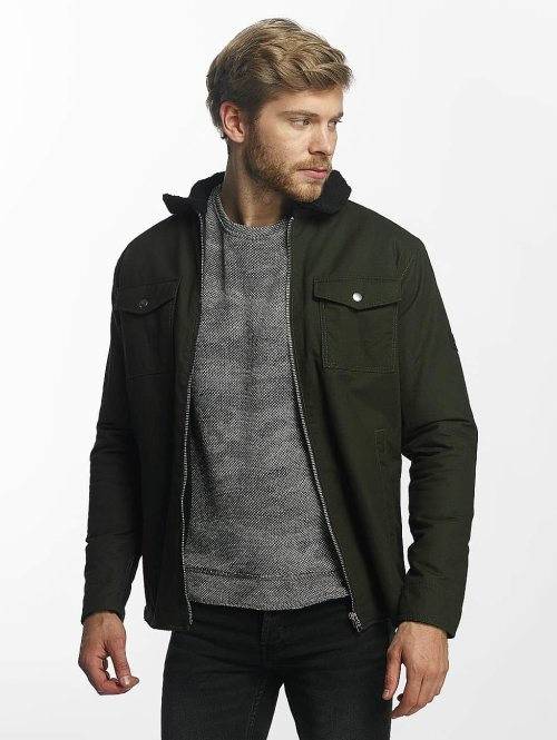 Jack & Jones Winterjacke jcoZlatan grün