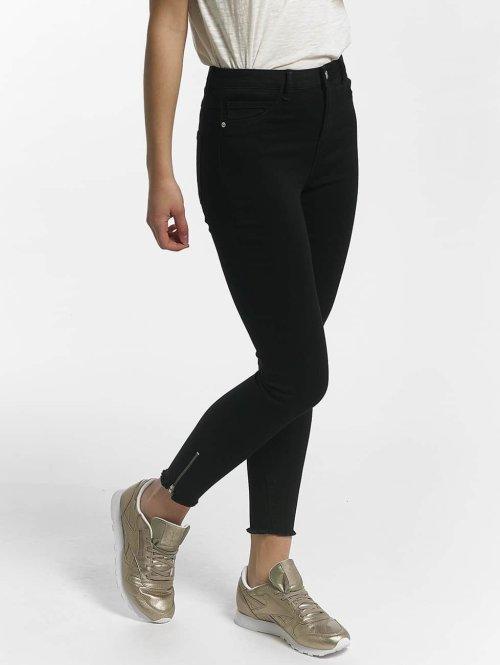 JACQUELINE de YONG Jean taille haute jdySkinny noir