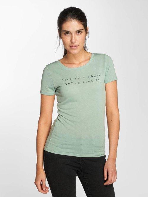 JACQUELINE de YONG t-shirt jdyRainbow groen