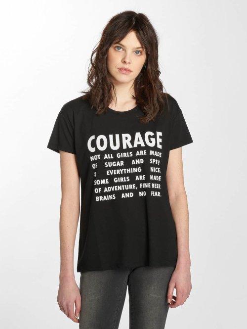 JACQUELINE de YONG T-shirts jdyNixon sort