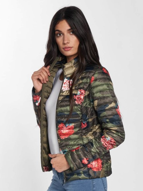 JACQUELINE de YONG Übergangsjacke jdyMaddy camouflage