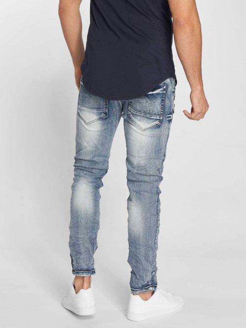 John H Slim Fit Jeans Roses blau