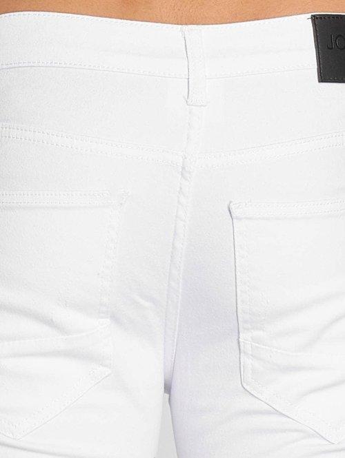 John H Slim Fit Jeans Logan weiß