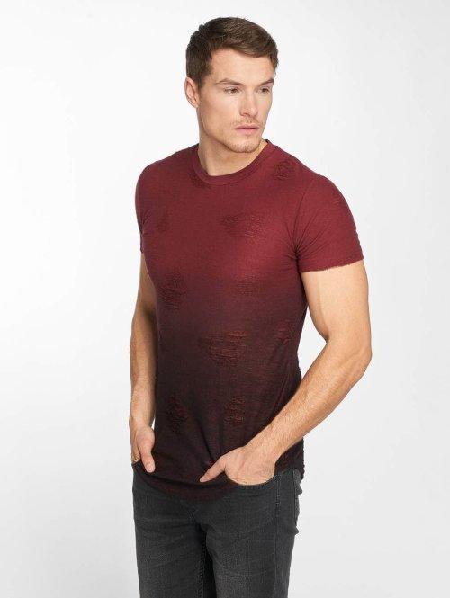 John H t-shirt Jucki rood