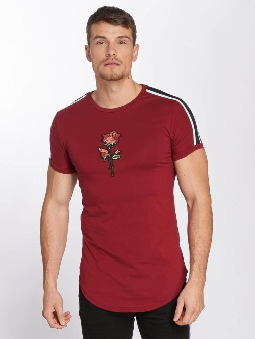 John H T-Shirt Bande rot