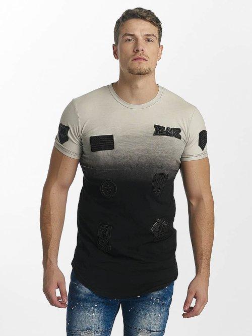 John H t-shirt Patches zwart