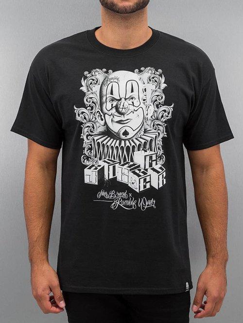 Joker T-paidat X Rumble musta