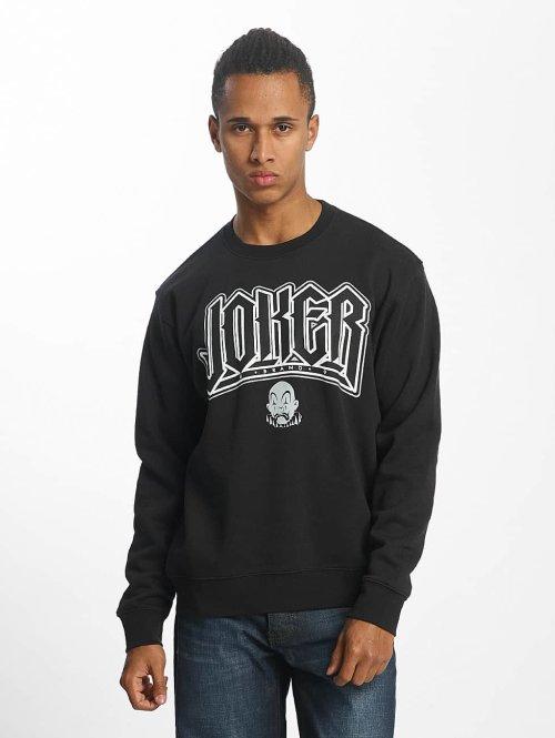 Joker trui Jokes zwart