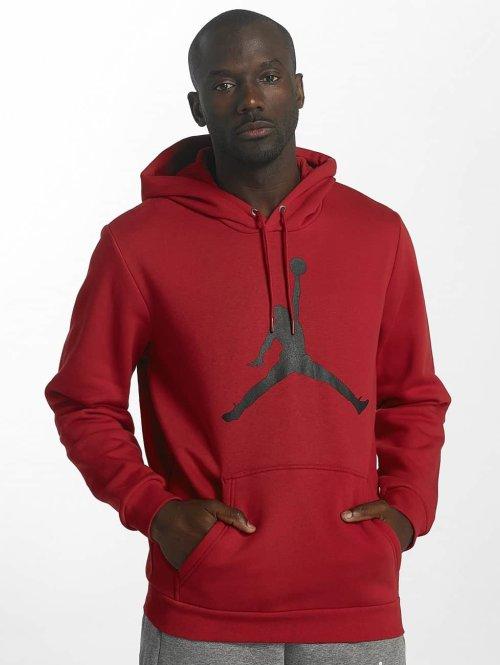 Jordan Sweat capuche Flight Fleece Jumpman Air rouge