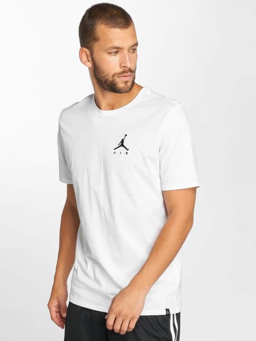 Jordan T-Shirt Sportswear Jumpman Air Embroidered blanc