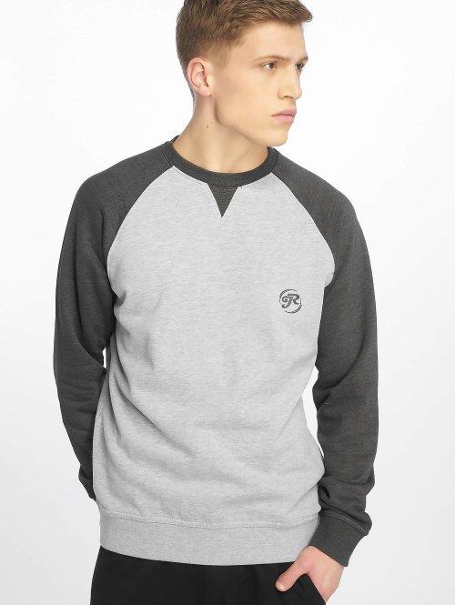 Just Rhyse Пуловер Raglan серый