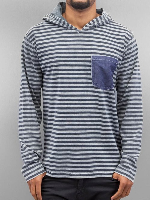 Just Rhyse Hoody Stripes grau