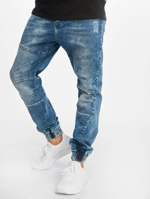 Just Rhyse Jean carotte antifit Jog bleu