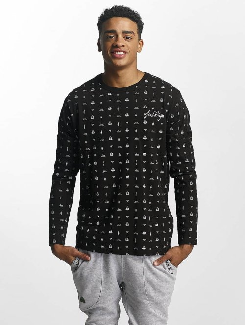 Just Rhyse Longsleeve Thane schwarz