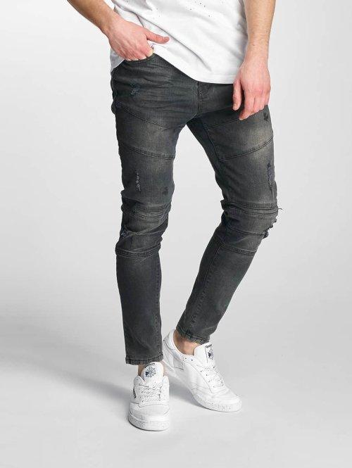 Just Rhyse Slim Fit Jeans Tulum zwart