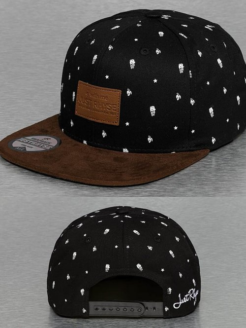 Just Rhyse Snapback Cap The Company schwarz