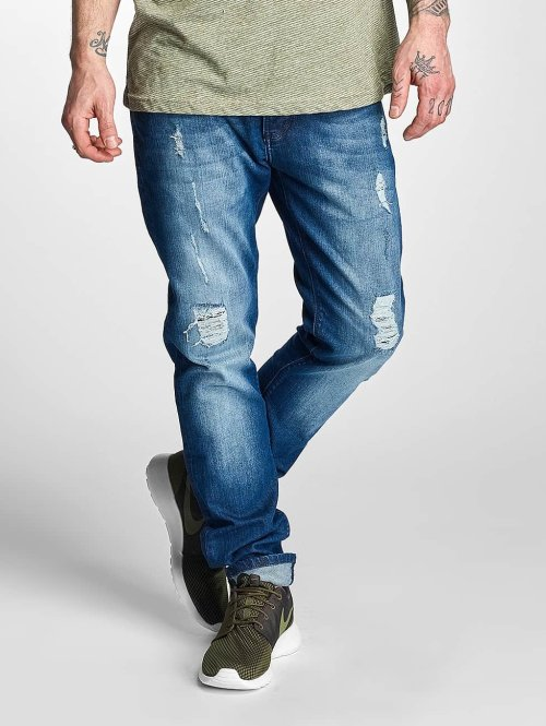 Just Rhyse Straight fit jeans Tulum blauw