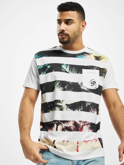 Just Rhyse T-shirt Oliver vit