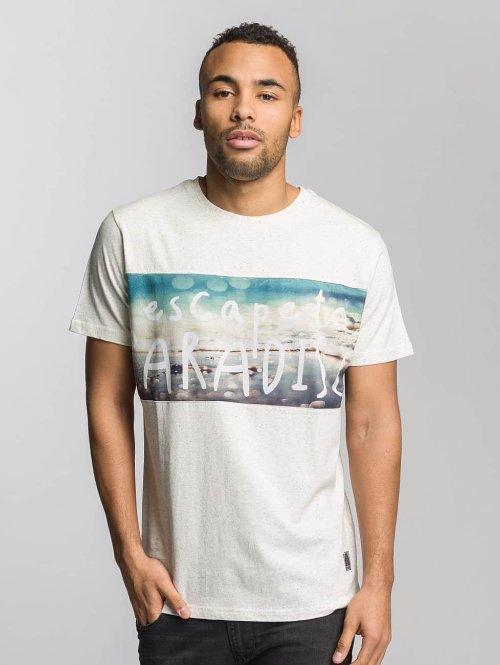 Just Rhyse T-Shirt Long Beach weiß