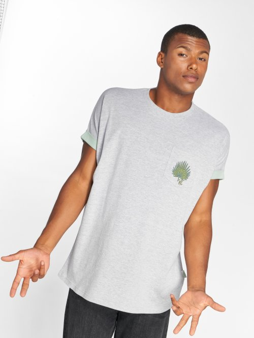 Just Rhyse T-Shirty Pinra szary