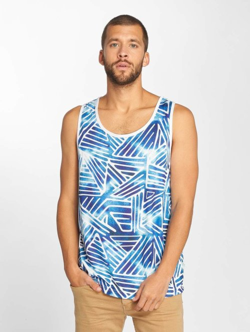 Just Rhyse Tank Tops Alcata blau