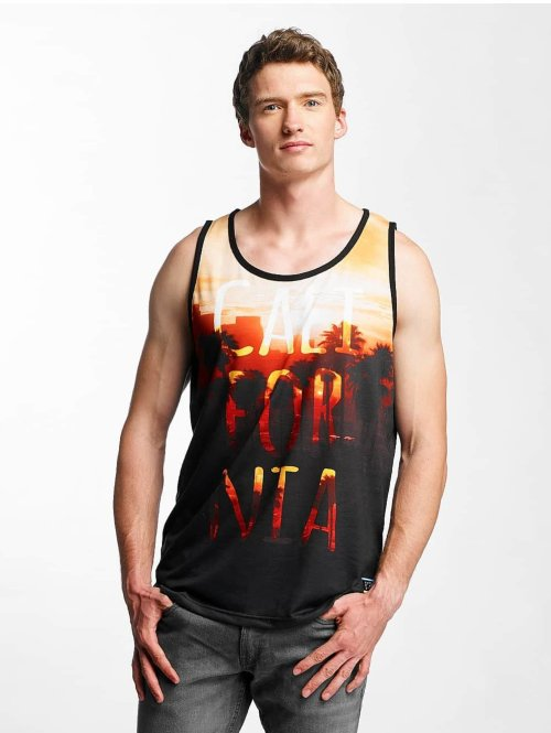 Just Rhyse Tank Tops Goleta orange