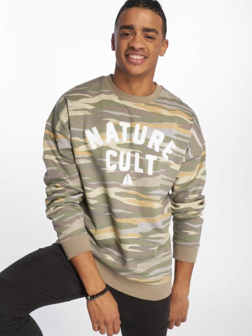 Just Rhyse trui Sucre camouflage