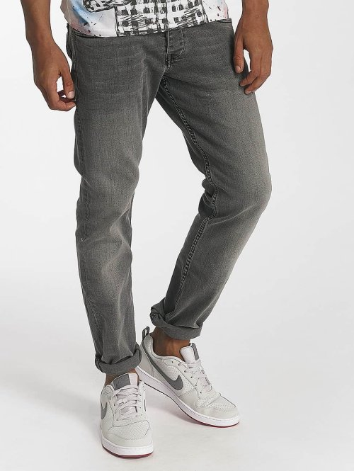 Kaporal Straight Fit Jeans Ben grau