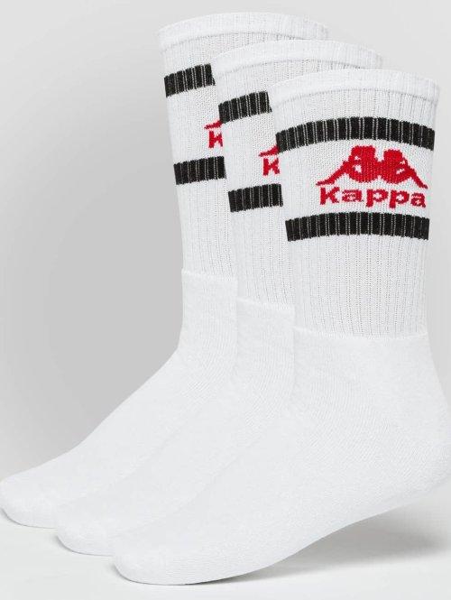 Kappa Sokker Temmo 3 Pack hvit