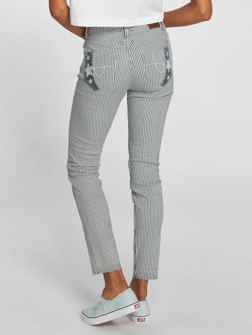 Khujo Skinny Jeans Shiva weiß