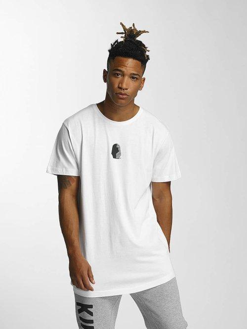Kingin T-paidat Comp. valkoinen