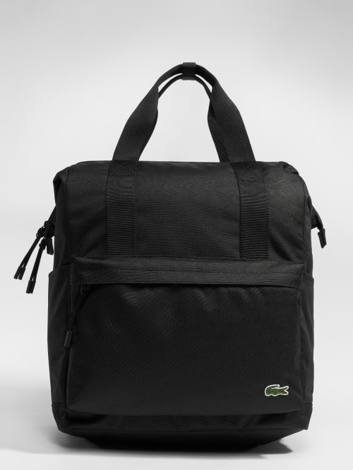 Lacoste Rucksack Backpacker schwarz
