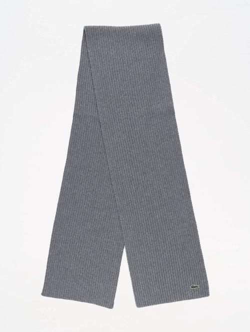 Lacoste sjaal Knitted grijs