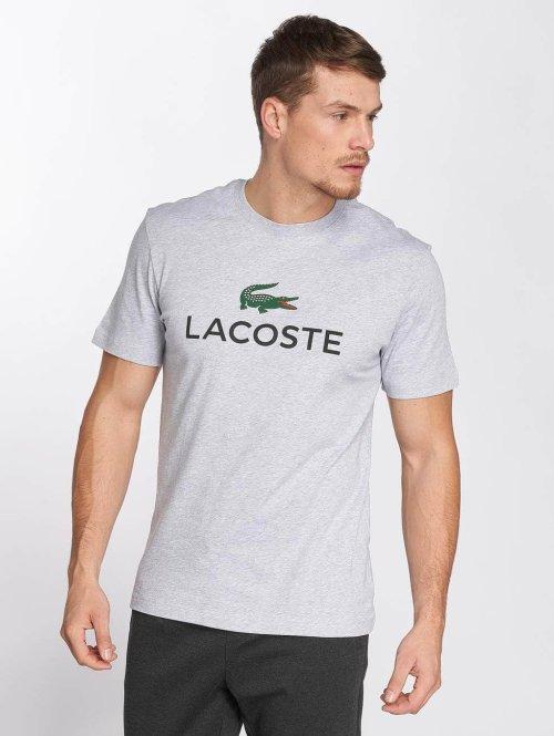 Lacoste t-shirt Classic grijs