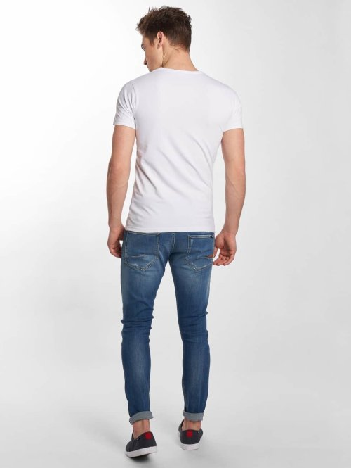 Le Temps Des Cerises Straight Fit Jeans 900/15 blau