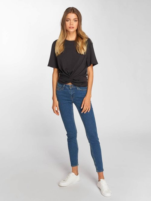 Lee Skinny Jeans Scarlett grau