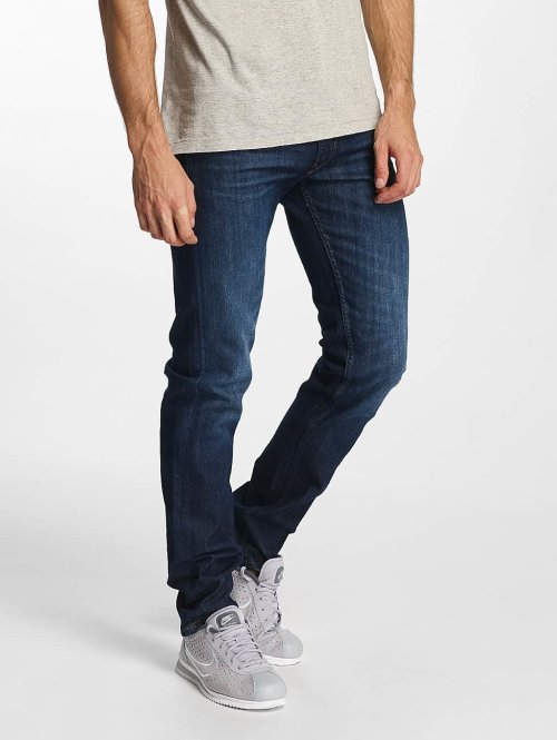 Lee Slim Fit Jeans Daren Zip Fly blau