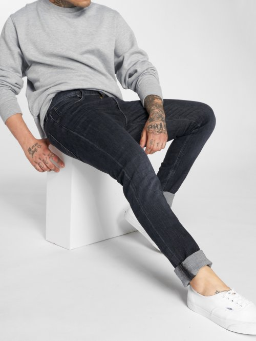 Lee Slim Fit Jeans Luke schwarz