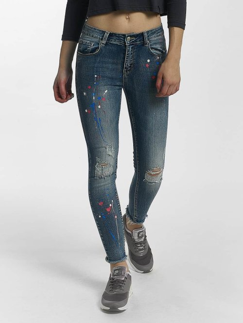 Leg Kings Kapeat farkut Leg Kings Jeans sininen