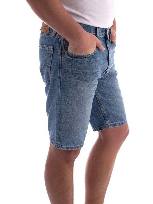 Levi's® Shorts 502 Taper Hemmed blau