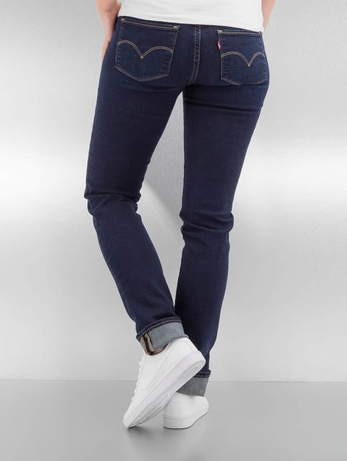 Levi's® Slim Fit Jeans 712 blau